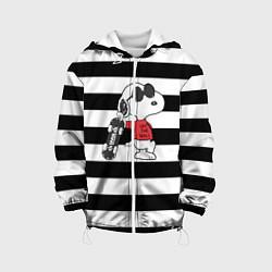Куртка с капюшоном детская Vans Doggy цвета 3D-белый — фото 1