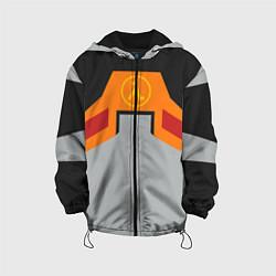 Куртка с капюшоном детская Гордон Фримен цвета 3D-черный — фото 1