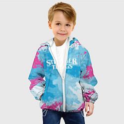 Детская 3D-куртка с капюшоном с принтом STRANGER THINGS, цвет: 3D-белый, артикул: 10183676105458 — фото 2