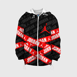 Детская 3D-куртка с капюшоном с принтом MICHAEL JORDAN 23, цвет: 3D-белый, артикул: 10203857305458 — фото 1