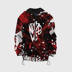 Детская 3D-куртка с капюшоном с принтом Noize MC, цвет: 3D-черный, артикул: 10207397305458 — фото 1