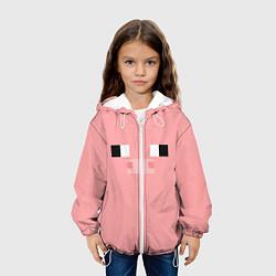 Куртка 3D с капюшоном для ребенка Minecraft Pig - фото 2