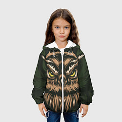 Куртка 3D с капюшоном для ребенка Хищная сова - фото 2