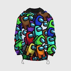 Куртка 3D с капюшоном для ребенка Among us - фото 1