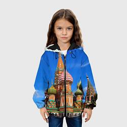 Куртка 3D с капюшоном для ребенка Храм Василия Блаженного - фото 2
