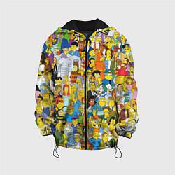 Куртка 3D с капюшоном для ребенка Simpsons Stories - фото 1