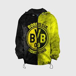 Куртка с капюшоном детская Borussia Dortmund цвета 3D-черный — фото 1