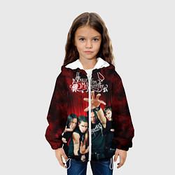 Куртка с капюшоном детская Bullet for my valentine цвета 3D-белый — фото 2