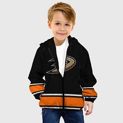Куртка с капюшоном детская Anaheim Ducks Selanne цвета 3D-черный — фото 2