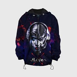 Куртка с капюшоном детская Love pirate station цвета 3D-черный — фото 1