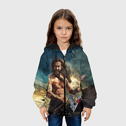Детская 3D-куртка с капюшоном с принтом Ролло, цвет: 3D-черный, артикул: 10073055805458 — фото 2