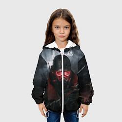 Детская 3D-куртка с капюшоном с принтом Fallout: New Vegas, цвет: 3D-белый, артикул: 10076906005458 — фото 2