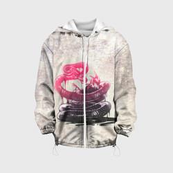 Куртка 3D с капюшоном для ребенка Three Days Grace: Acid snake - фото 1
