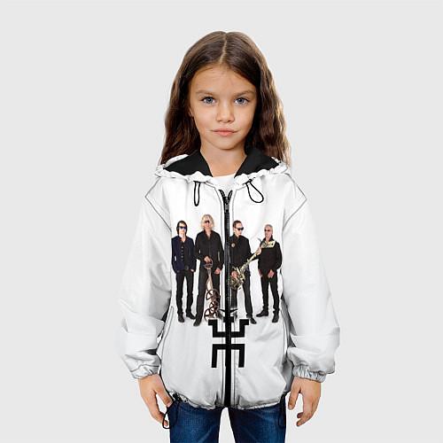 Детская куртка Группа Пикник / 3D-Черный – фото 3