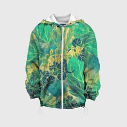 Детская куртка Узор из листьев