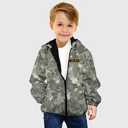 Куртка с капюшоном детская A II + цвета 3D-черный — фото 2