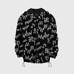 Куртка с капюшоном детская Chemical Brothers: Pattern цвета 3D-черный — фото 1