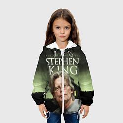 Куртка с капюшоном детская Bestselling Author цвета 3D-белый — фото 2