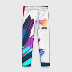 Леггинсы для девочки Likee цвета 3D — фото 1
