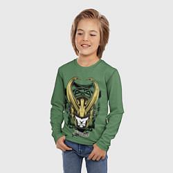 Лонгслив детский Loki цвета 3D — фото 2