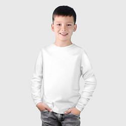 Лонгслив хлопковый детский Jurassic World цвета белый — фото 2