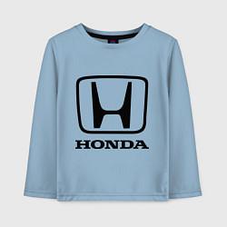 Детский лонгслив Honda logo