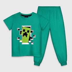 Детская пижама Crash Minecraft