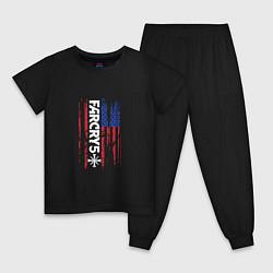 Пижама хлопковая детская Far Cry 5 цвета черный — фото 1