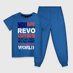 Детская пижама The Beatles Revolution