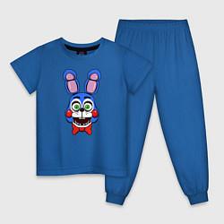 Пижама хлопковая детская Toy Bonnie FNAF цвета синий — фото 1