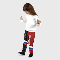 Брюки детские Krasnodar, Russia цвета 3D-принт — фото 2