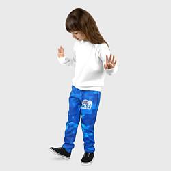 Брюки детские KSI Iceland Winter цвета 3D-принт — фото 2