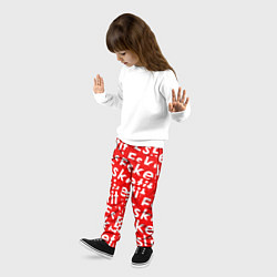 Брюки детские Esketit Pattern цвета 3D — фото 2