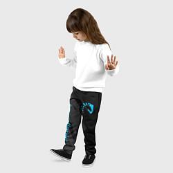 Брюки детские TEAM LIQUID цвета 3D — фото 2