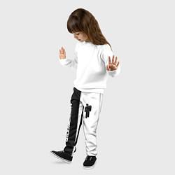 Брюки детские BILLIE EILISH цвета 3D — фото 2