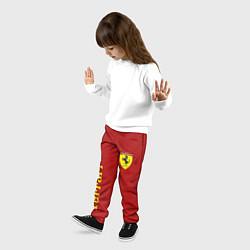Брюки детские Ferrari Red Sport цвета 3D — фото 2