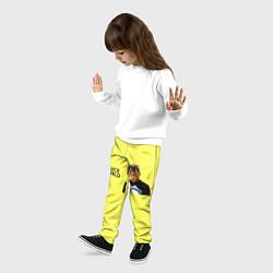 Брюки детские Juice WRLD цвета 3D-принт — фото 2