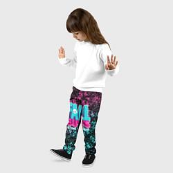 Брюки детские FALL GUYS цвета 3D-принт — фото 2