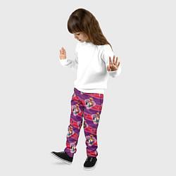 Брюки детские Белоснежка и Принц цвета 3D — фото 2