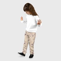 Брюки детские Бэмби цвета 3D-принт — фото 2