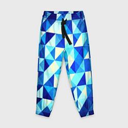 Детские брюки Синяя геометрия