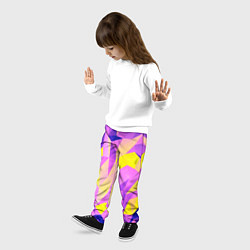 Брюки детские Texture цвета 3D — фото 2
