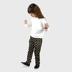Брюки детские Узор цвета 3D — фото 2
