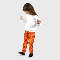 Брюки детские Морковь цвета 3D — фото 2