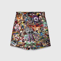 Шорты детские Boku no Hero Academia цвета 3D-принт — фото 1