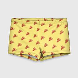 Плавки для мальчика Рай пиццы цвета 3D — фото 1