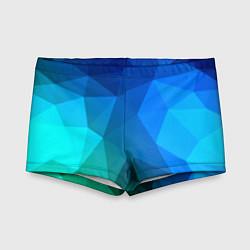 Плавки для мальчика Fight Polygon цвета 3D — фото 1