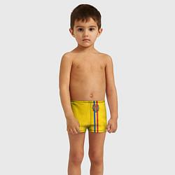 Плавки для мальчика Молдавия: лента с гербом цвета 3D — фото 2