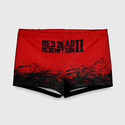 Плавки для мальчика Red Dead Redemption II цвета 3D — фото 1