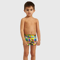 Плавки для мальчика Among Us Brawl Stars Персона цвета 3D — фото 2
